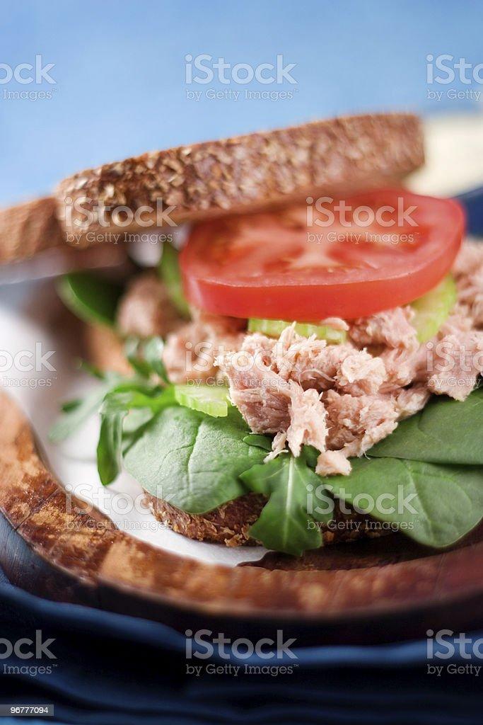 Heavenly Tuna Salad stock photo