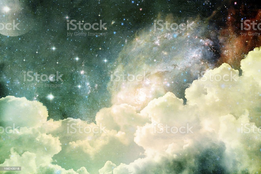 Heavenly View royalty-free stock photo