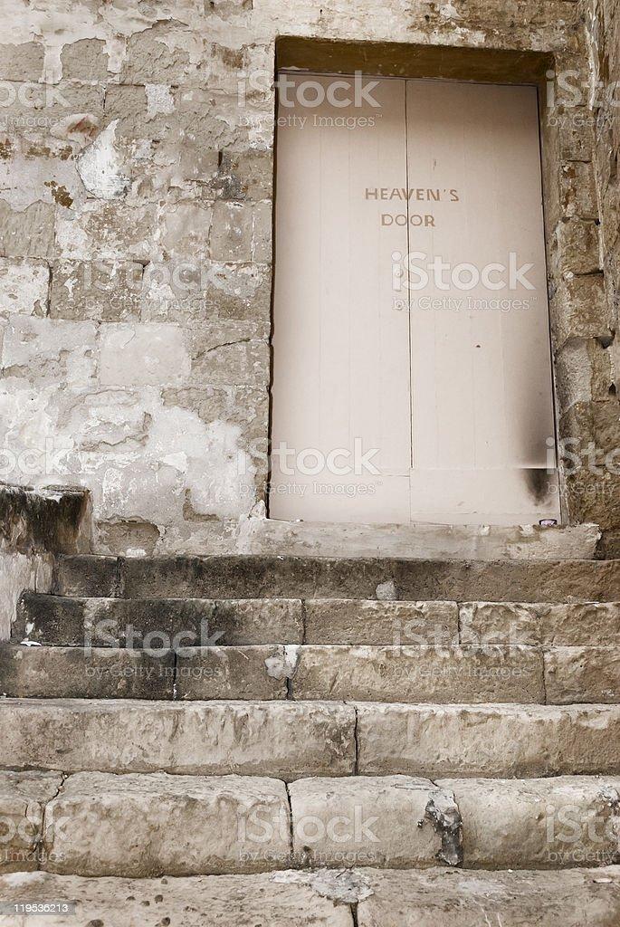 Heaven's Door royalty-free stock photo
