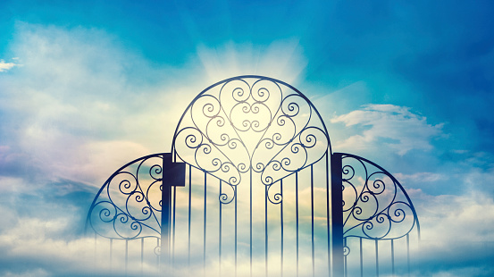 Heavens Gate Stock Photo - Download Image Now