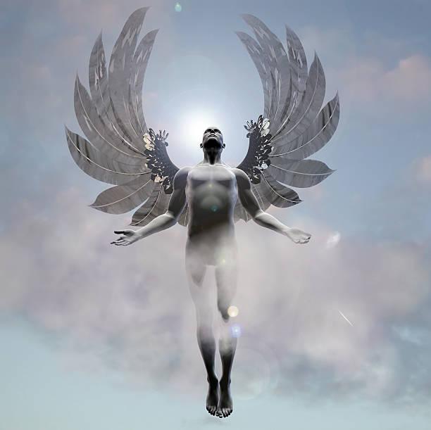 Heavenward Angel stock photo