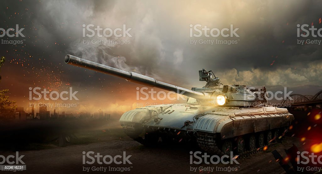 Heavy armor stock photo