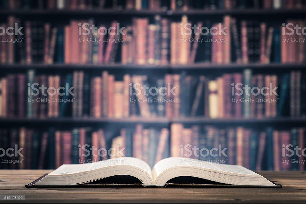 Heavy book stock photo