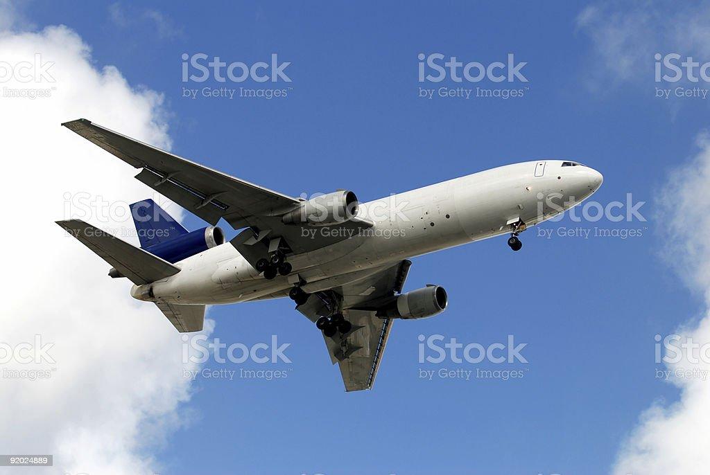 Heavy cargo jet royalty-free stock photo