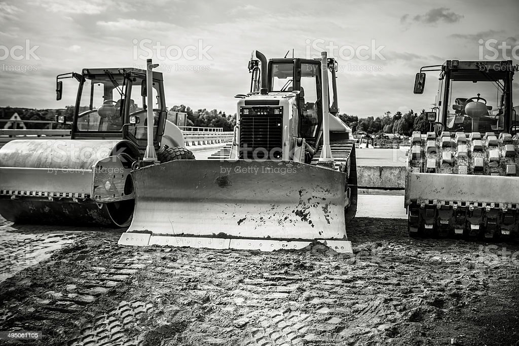Schweren Baumaschine – Foto
