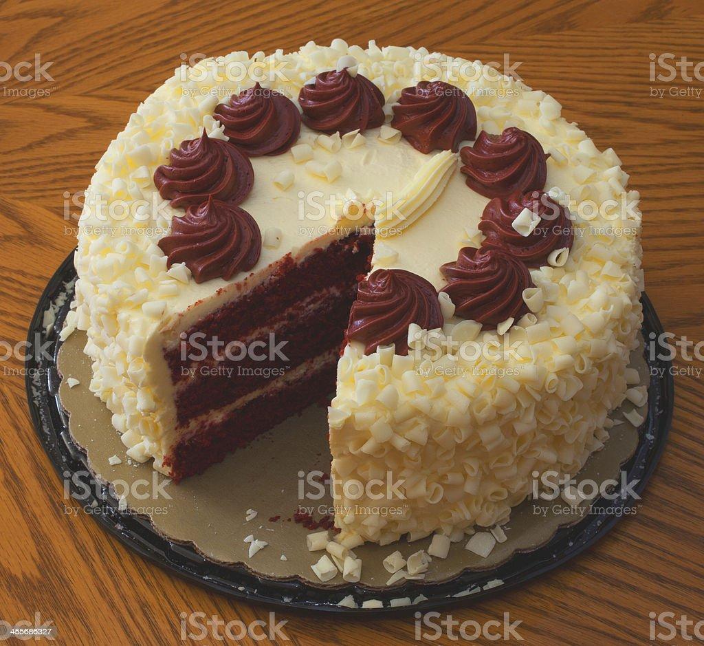 Heavy dessert stock photo