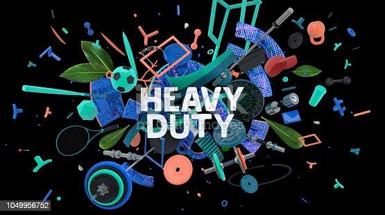 istock Heavy duty card 1049956752