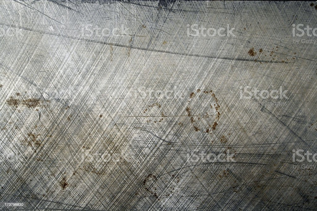Heavy duty steel plate - grungy style royalty-free stock photo