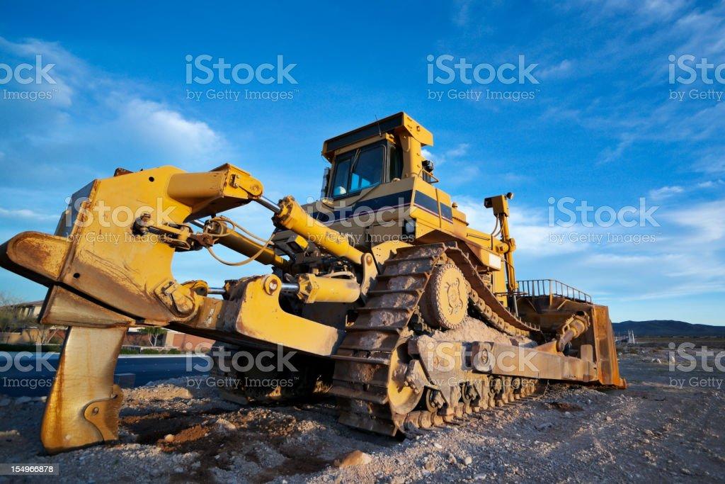 Heavy Equipment Bulldozer stock photo