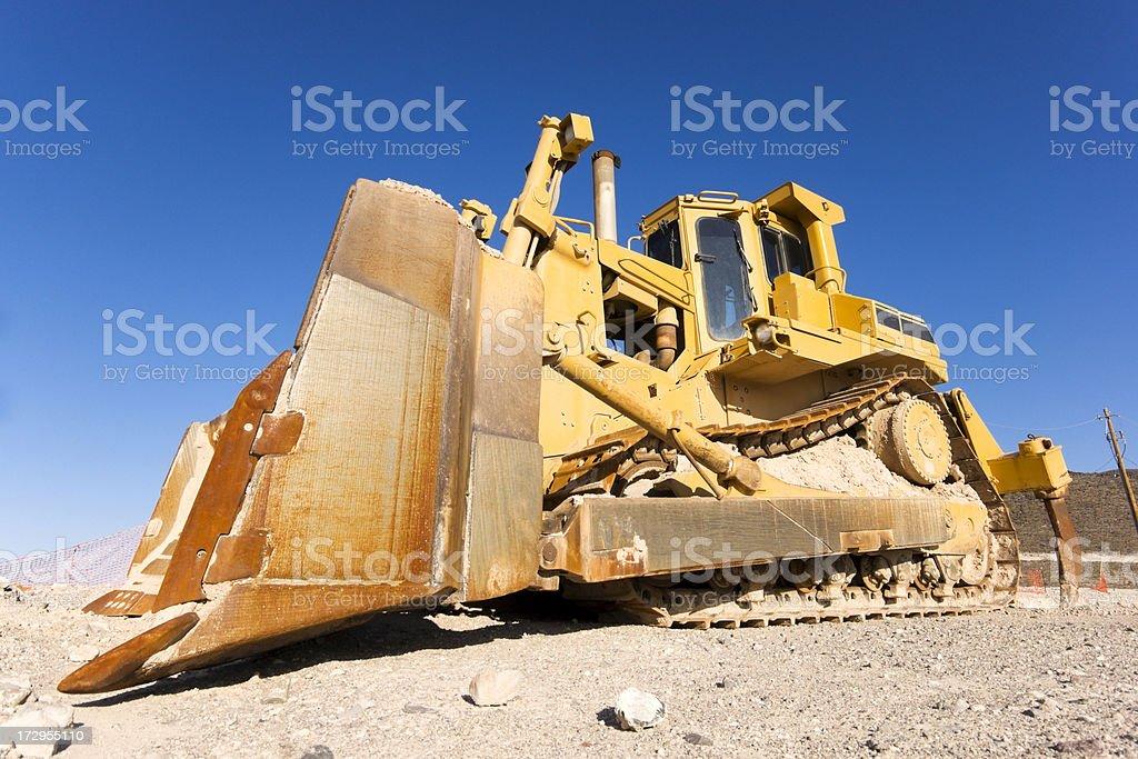 Heavy Equipment Bulldozer royalty-free stock photo