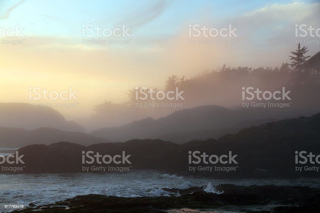 Heavy Fog stock photo