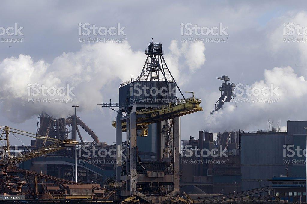 heavy industrial environment royalty-free stock photo