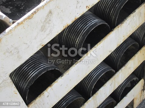 istock Heavy Industrial pipes 478103842