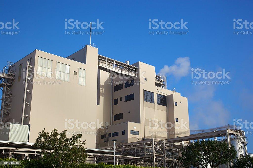 Heavy Industry Factory royalty-free stock photo