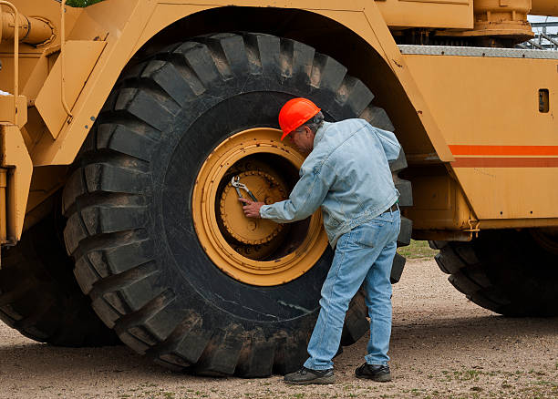 heavy industry mechanic stock photo