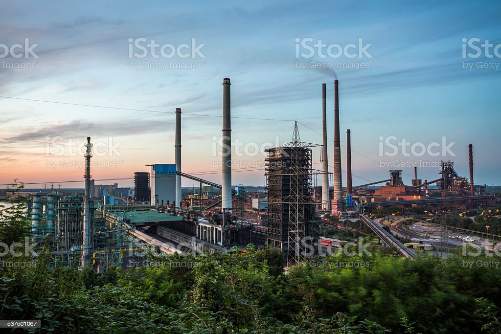 Heavy Industry stock photo