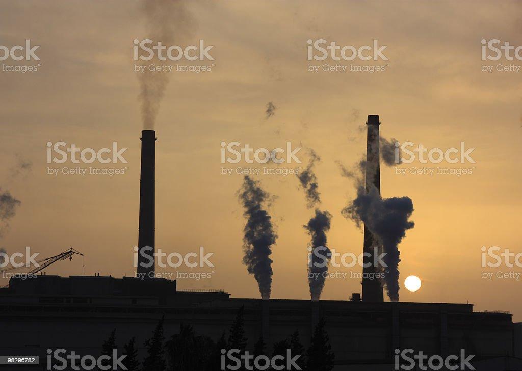 Heavy Industry Plant royalty-free stock photo