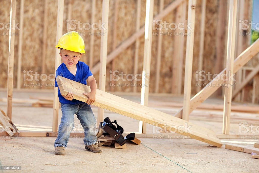 Heavy Labor stock photo