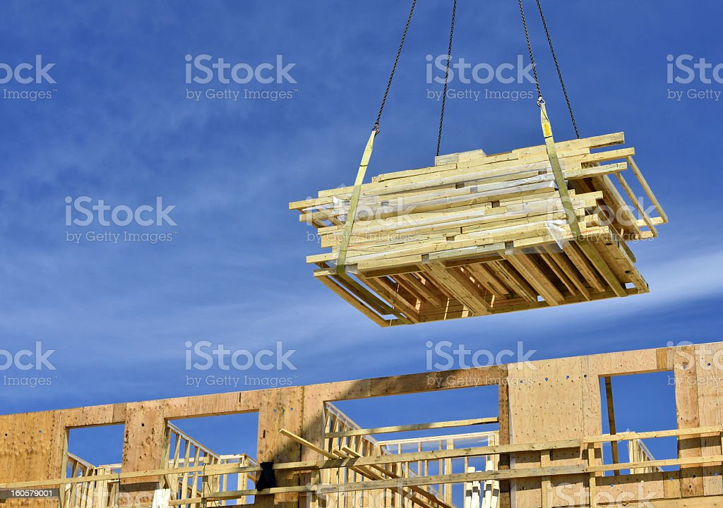 Heavy Lift stock photo