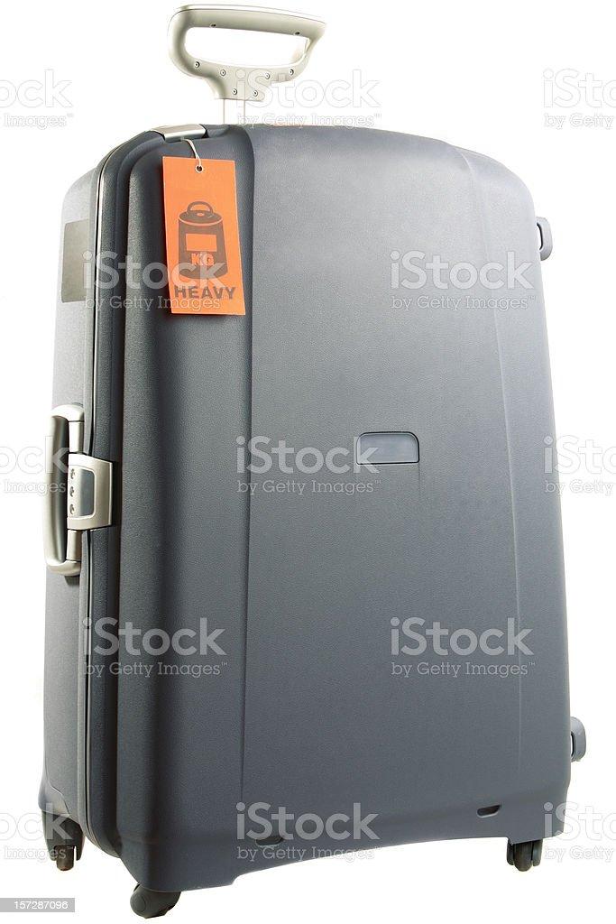 Heavy Luggage royalty-free stock photo
