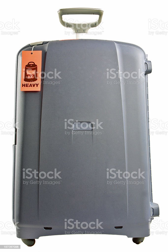 Heavy Luggage royalty-free stock photo