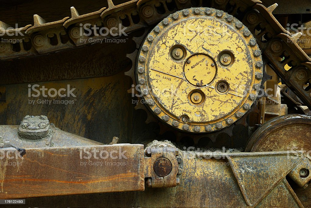 Heavy machine royalty-free stock photo