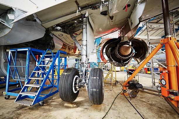 Heavy maintenance stock photo