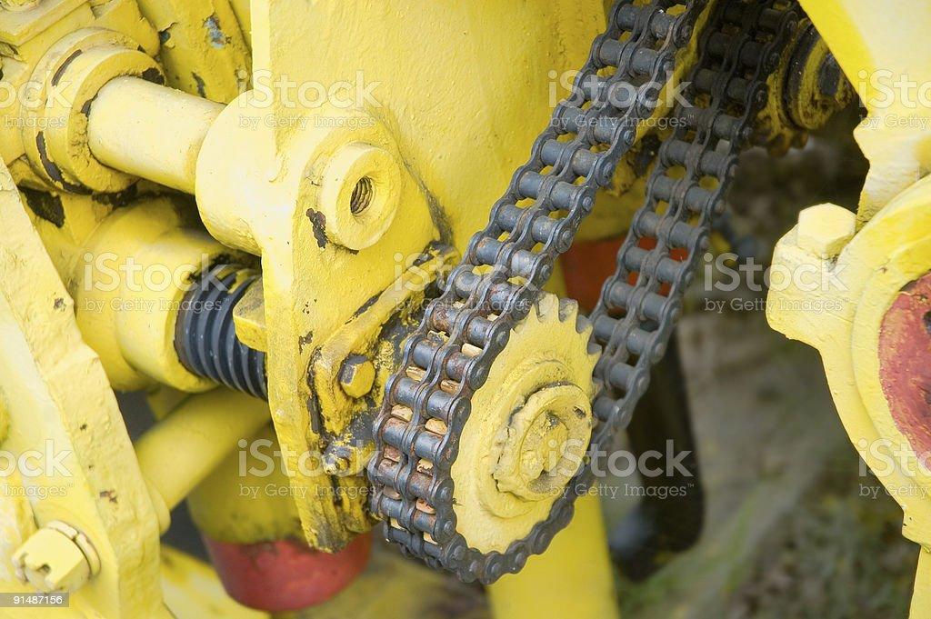 Heavy mechanism royalty-free stock photo