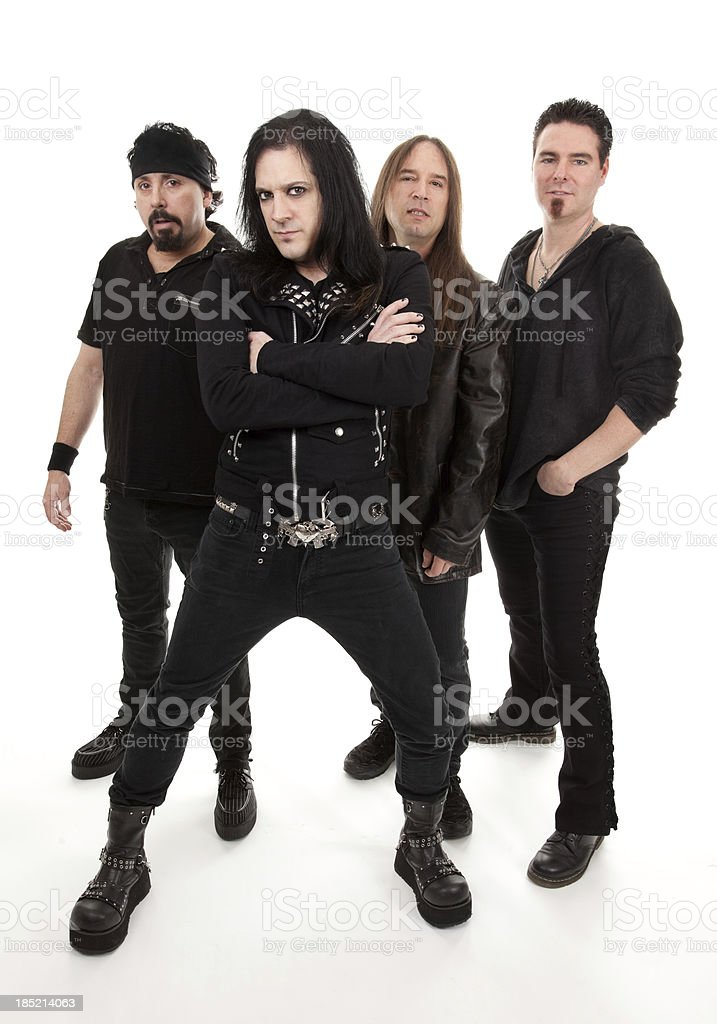 Heavy Metal Band stock photo