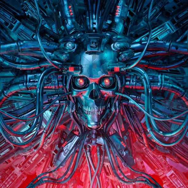 Heavy metal mind stock photo