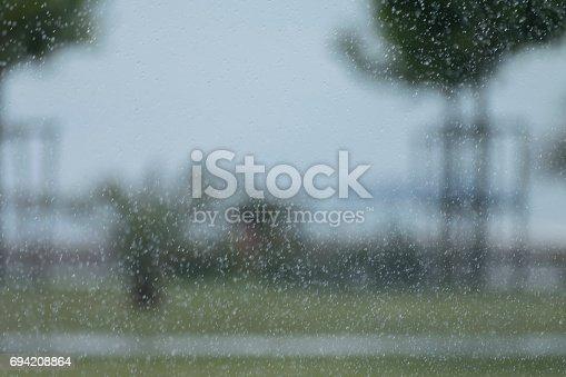 691761646istockphoto Heavy rain background 694208864