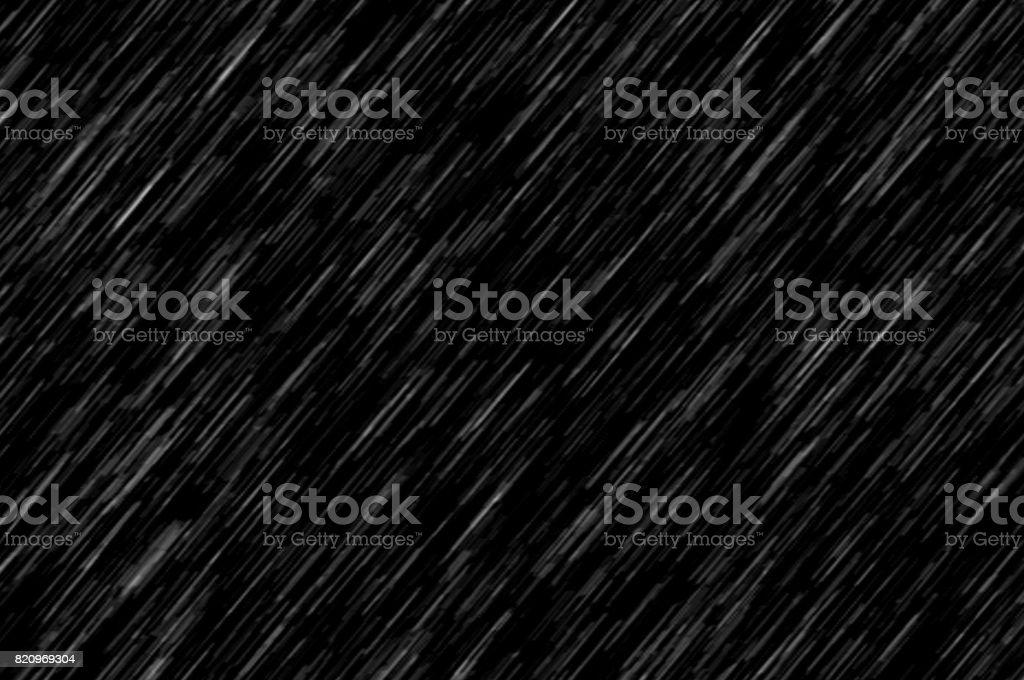 Lluvias, textura de fondo negro, gran textura - foto de stock