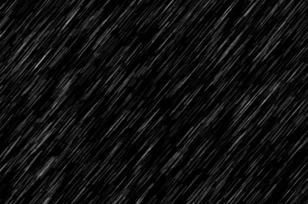 heavy rain, texture on black background, large texture - rain stock photos and pictures