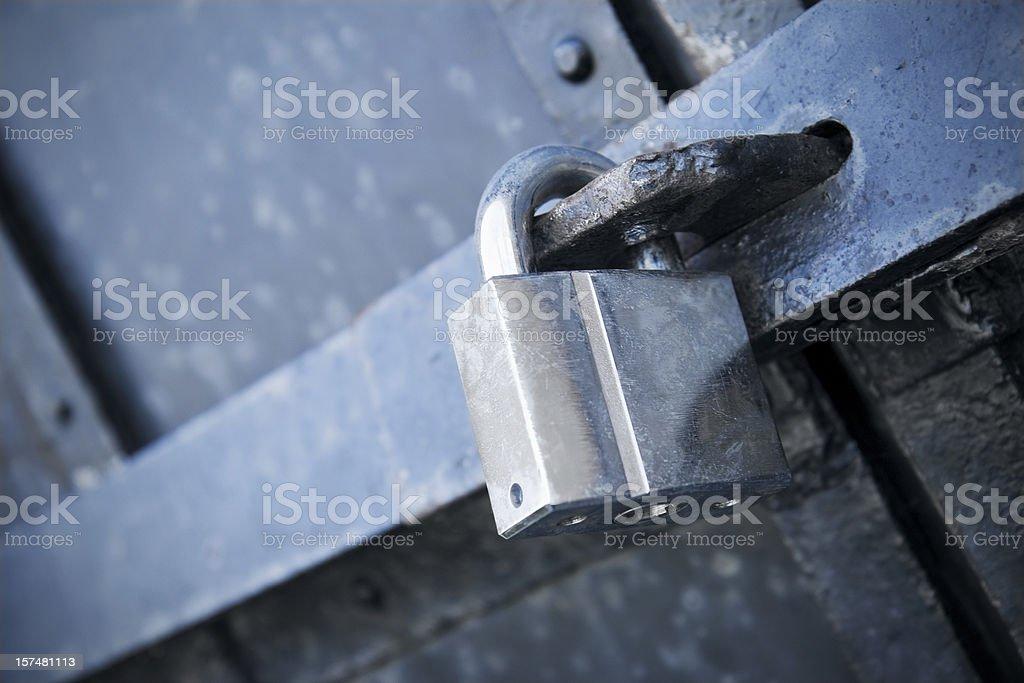 Heavy security stock photo