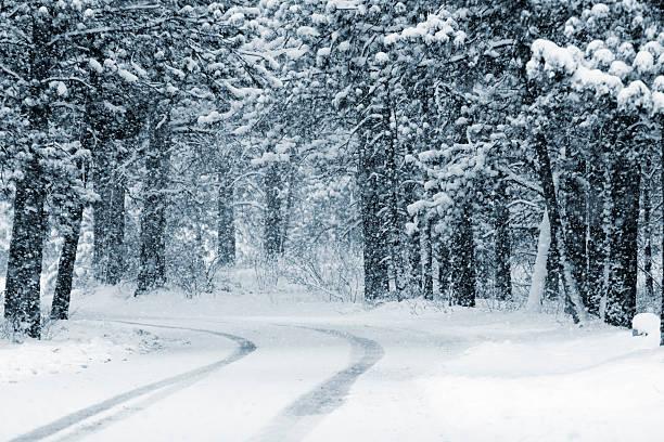 Heavy Snow stock photo