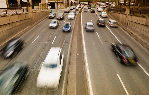 trafic intense à Paris - Photo
