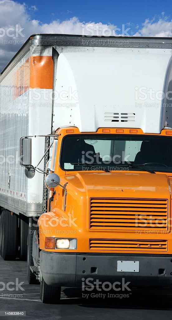 Heavy truck royalty-free stock photo