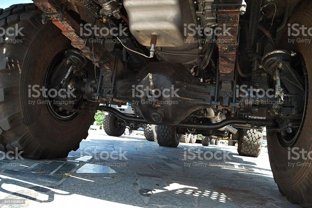 Heavy truck suspension - Photo