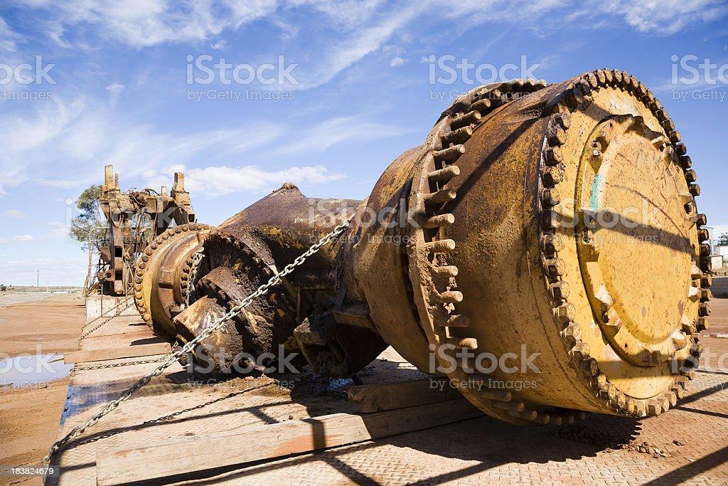 Heavy Vehicle Parts royalty-free stock photo