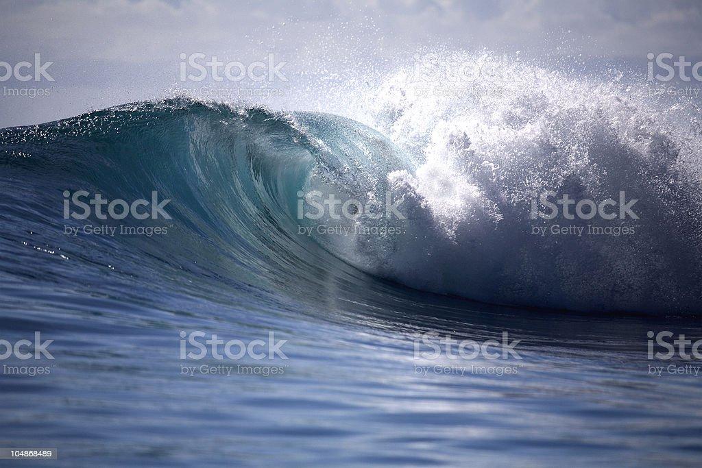 Heavy wave royalty-free stock photo
