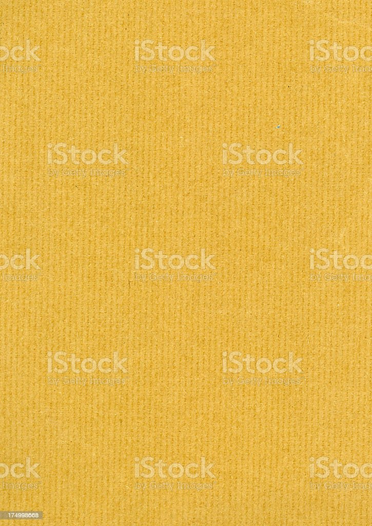 Heavy weight brown paper royalty-free stock photo