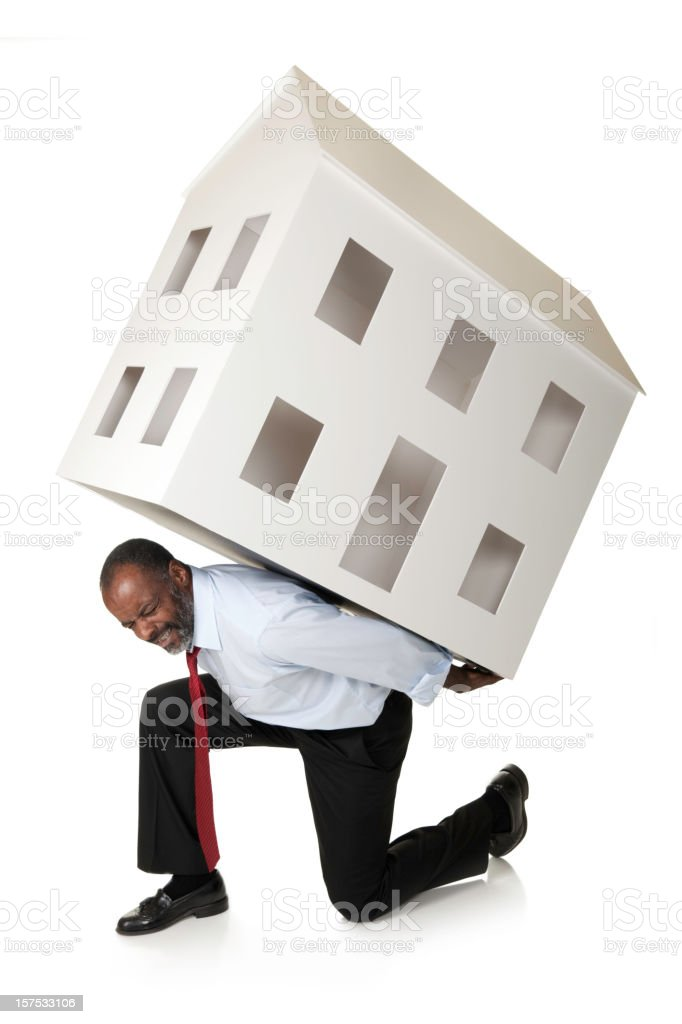 Heavy Weight Real Estate royalty-free stock photo