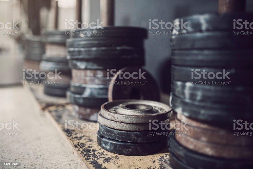 Heavy Weights stock photo