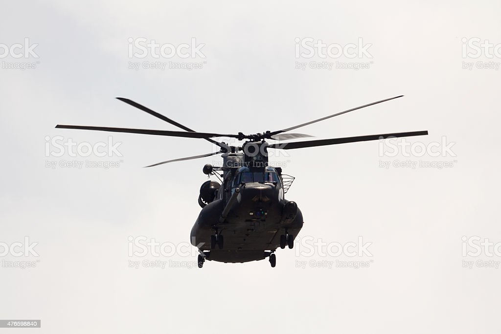 Heavy-lift helicopter stock photo