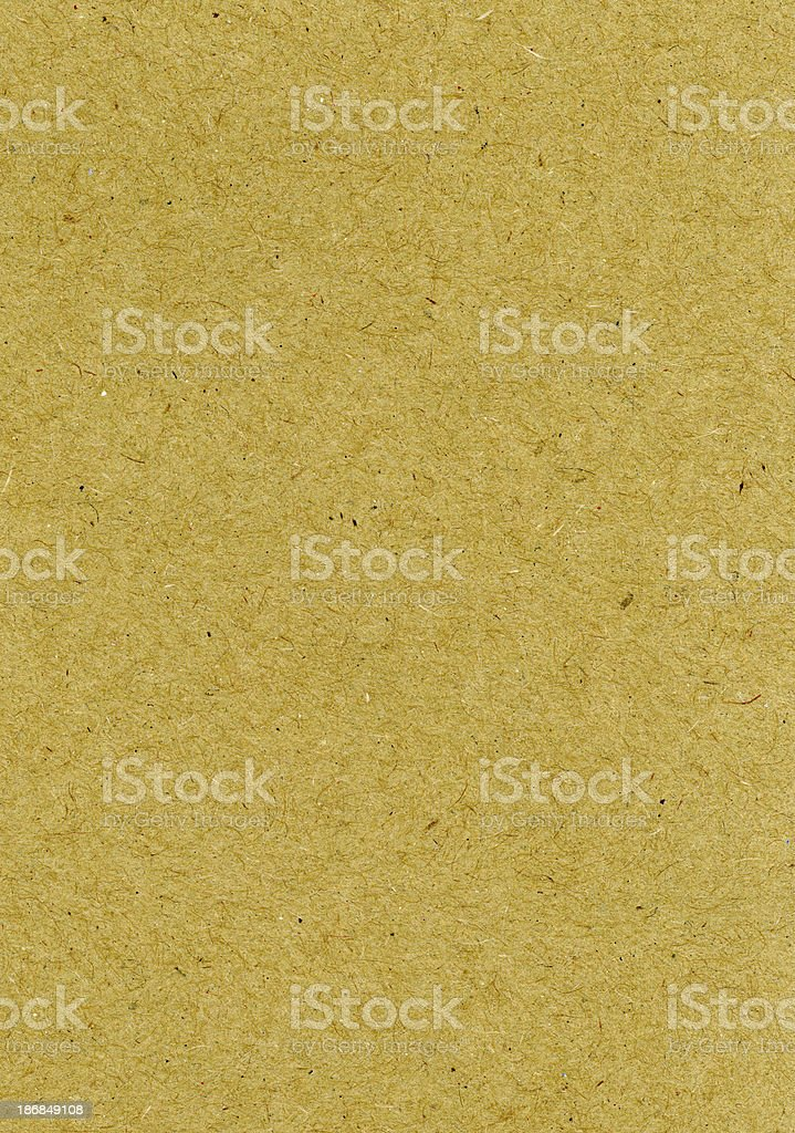 Heavyweight Brown Paper royalty-free stock photo