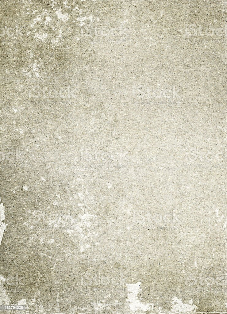 Heavyweight Grey Paper Card stock photo