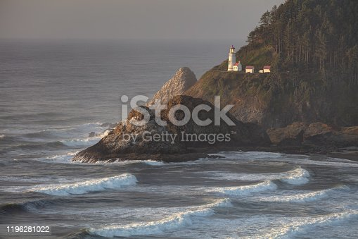 Taken from an overlook near the Heceta Head Lighthouse along the central Oregon Coast.