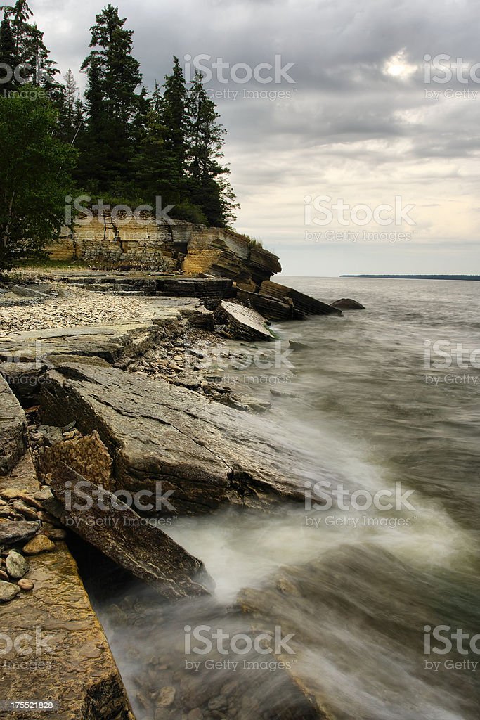 Hecla Provincial Park royalty-free stock photo