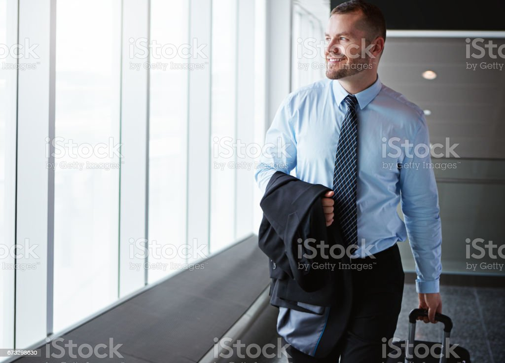He'd hate to work in a cubicle royalty-free stock photo