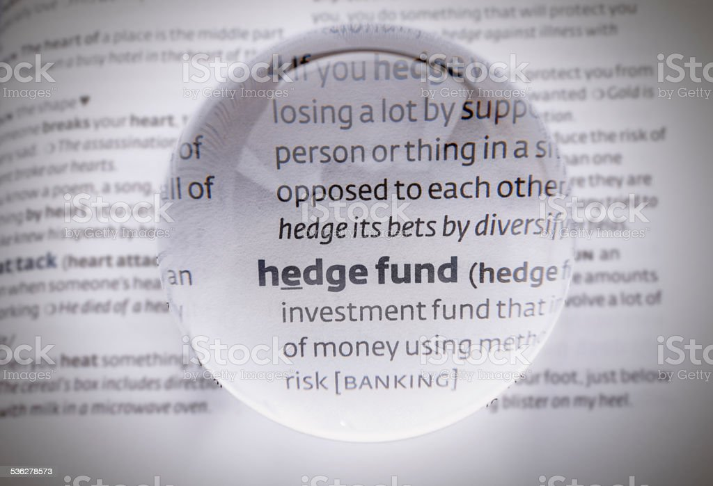 Hedge fund – Foto